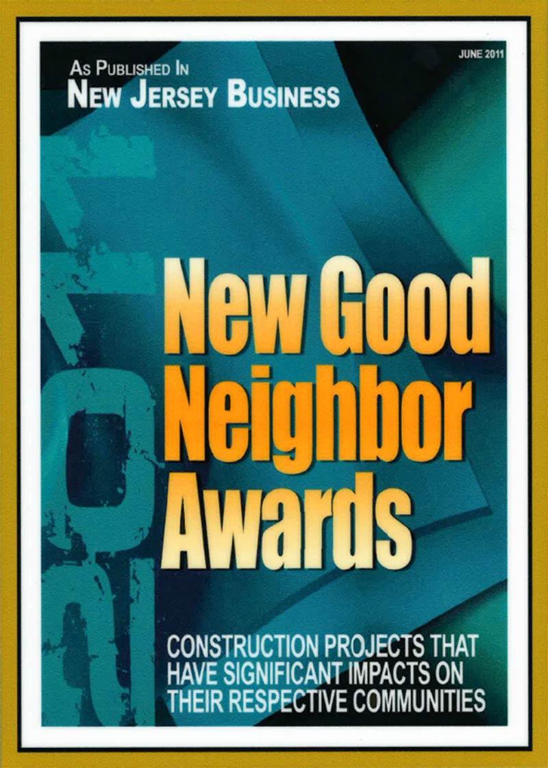 2011 – New Good Neighbor Awards – New Jersey Business