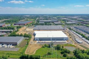 Completed warehouse project at 83 Stults Road in South Brunswick, New Jersey.