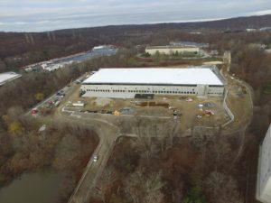 FedEx Distribution Center warehouse construction.