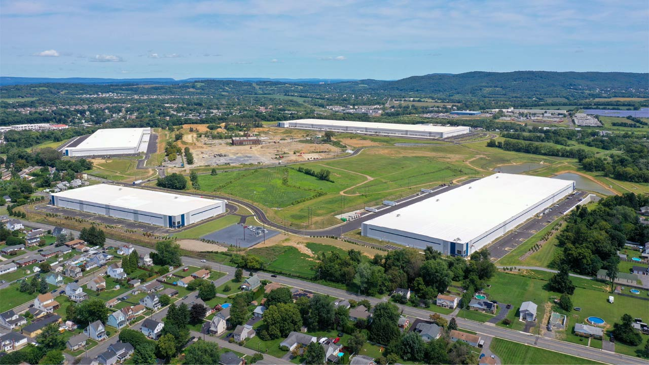 I-78 Logistics construction project in Phillipsburg, NJ - Project Cover Image