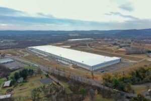 Initial warehouse completed at I-78 Logistics Park