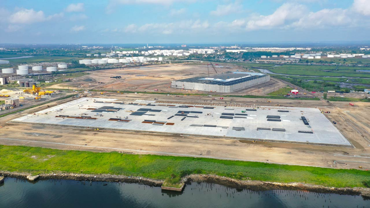 Linden Logistics Center construction project in Linden, NJ - Project Cover Image