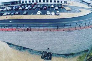Medline Warehouse Retaining Wall - 02