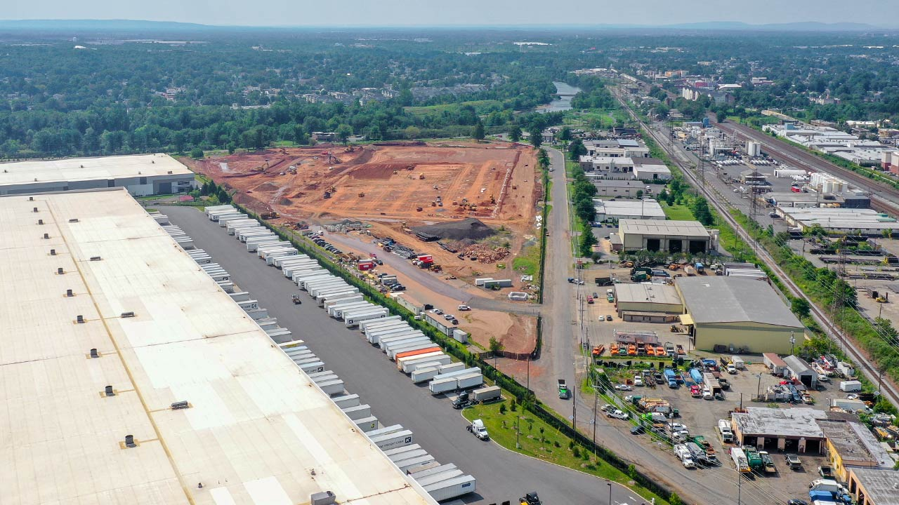 Middlesex Industrial Development construction project in Middlesex, NJ - Project Cover Image