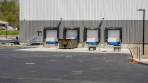 Loading dock completed at NYSCO in Hawthorne, New York.