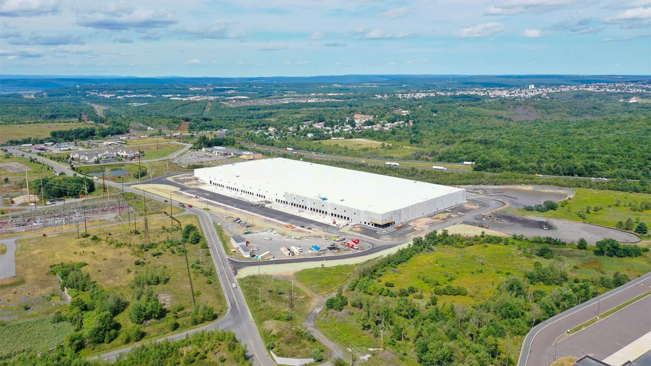 New Distribution Center - Hazle Township, PA - Project Cover Image