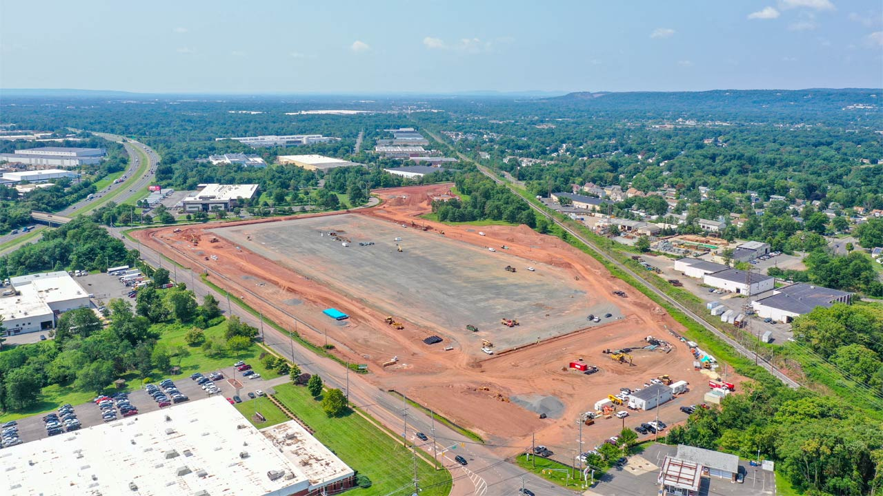 Old New Brunswick Road Construction Project in Piscataway, New Jersey - Project Cover Image
