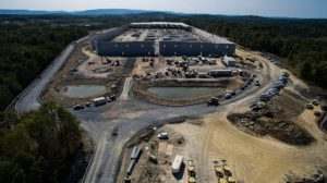 Aerial view of the Sailfish Construction Project in Montgomery, New York