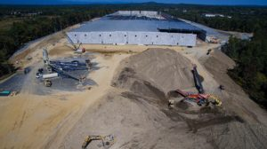 Sailfish Construction Project aerial photo - Montgomery New York