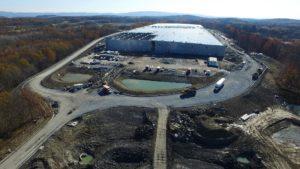 Sailfish Project Warehouse Aerial Shot in November 2020