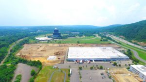 Construction and land development of the Stateline Business Park in Mahwah, New Jersey.