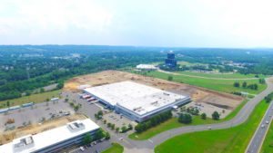 Stateline Business Park construction and land development in Mahwah, New Jersey.