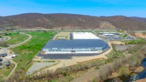Stateline Business Park photo of the completed complex from the West at 400 feet.