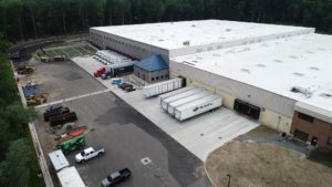The completed Subaru Warehouse project in Orangeburg, New York.