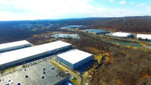TWW Tires warehouse project in Mount Oliver, New Jersey.