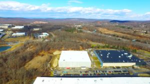 TWW Warehouse and surrounding landscape in Mount Olive, New Jersey.