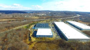 TWW Warehouse and surrounding warehouses in Mount Oliver, New Jersey.