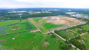 West Deptford Distribution Center aerial photo taken from the North East.