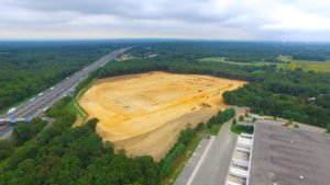 Interstate Boulevard - Phase 2 site excavation in South Brunswick, New Jersey.