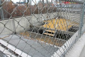 Sip Ave sewer access point