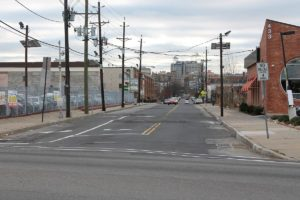 Completed paving at the Sip Ave project